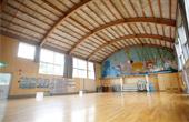 発表会や雨天体育のできる体育館